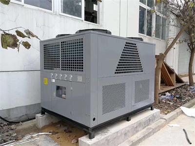 工业冷水机板式换热器,传热系数高,结构紧凑,末端温差小